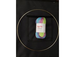 Mandala 12inch 100g 100% DK surprise kit