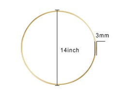 14 inch mandala dreamcatcher hoop