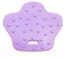 Duck feet teether pair - pastel purple