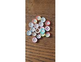 10mm wooden buttons